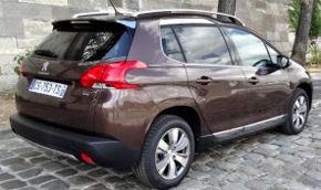 Essai Peugeot 2008 : crossover urbain