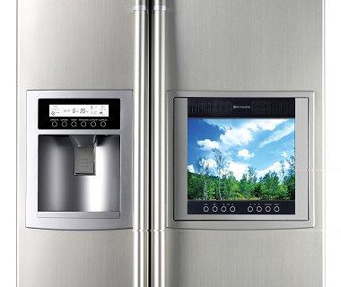 electrom nager du futur le r frig rateur lcd de lg. Black Bedroom Furniture Sets. Home Design Ideas