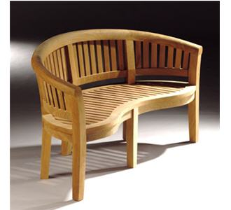 mobilier d 39 ext rieur en teck banc l 39 oasis teck. Black Bedroom Furniture Sets. Home Design Ideas