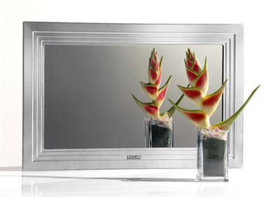 un quipement domestique intelligent tv mirror philips. Black Bedroom Furniture Sets. Home Design Ideas