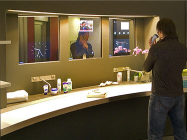 Bienvenue dans la maison du futur living tomorrow la for Salle de bain du futur