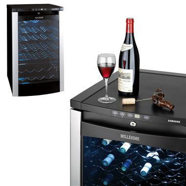 guide de la cave vin s lection de caves vin armoire vin mill sime samsung. Black Bedroom Furniture Sets. Home Design Ideas