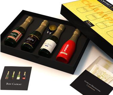 coffret degustation champagne congelateur tiroir. Black Bedroom Furniture Sets. Home Design Ideas