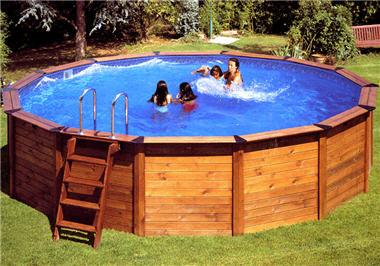 Infos sur photo de piscine en bois ronde arts et voyages for Piscine bois ronde