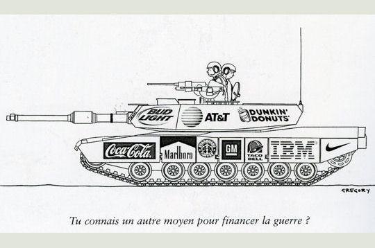 guerre et pub