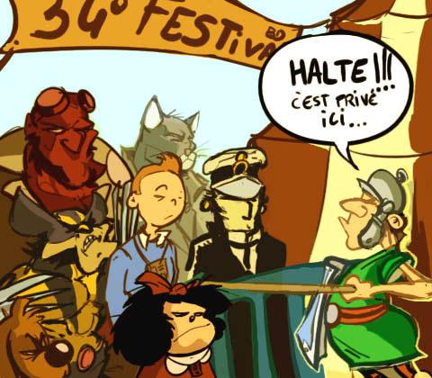 Dessin humour 34 me festival de la bd d 39 angoul me sur l for Salon de la bd angouleme