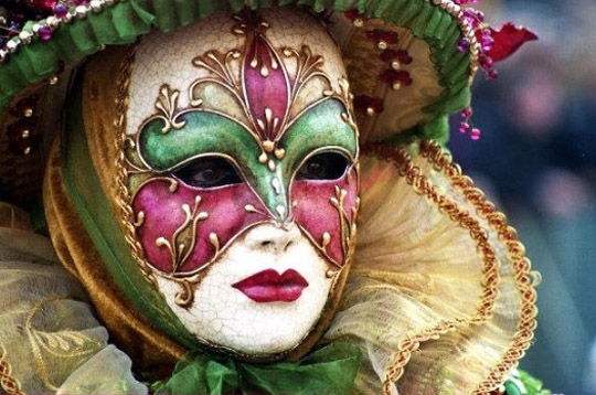 Masque floral carnaval de venise sur l 39 internaute actualite europe - Masque de carnaval de venise a imprimer ...