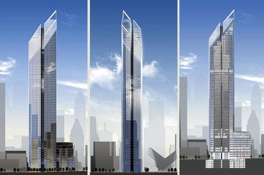 L 39 esprit de manhattan world trade center les nouveaux for Plus haute tour new york
