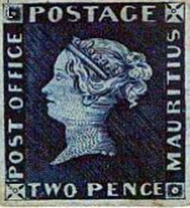 La Reine Victoria est timbrée ! Pennybleu