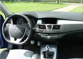 Renault Laguna III GT Estate : l\'intérieur
