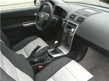 test e pour vous la volvo c30 ergonomie et confort int rieur. Black Bedroom Furniture Sets. Home Design Ideas