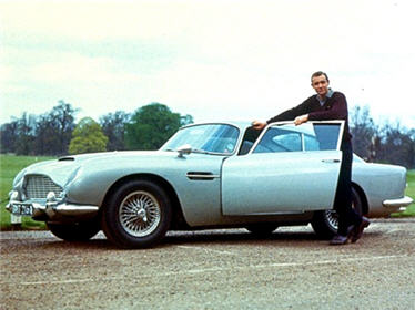 Les James Bond Cars Aston Martin Db5 De Golfinger 1964