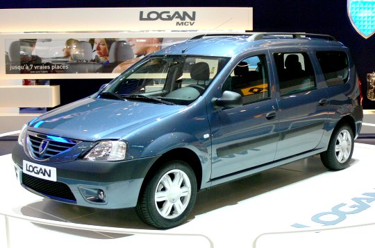 nouveaut s du mondial de l 39 auto 2006 dacia logan mcv. Black Bedroom Furniture Sets. Home Design Ideas