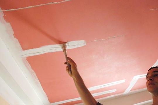 bricolage probl me de fissures peinture d 39 impression. Black Bedroom Furniture Sets. Home Design Ideas
