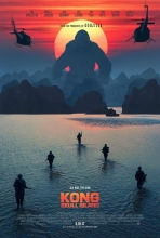 Kong : Skull Island : sortie, bande-annonce, séances