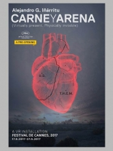 Carne y arena (Virtually Present, Physically Ivisible)