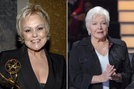 Muriel robin et line renaud copains comme people sur for Muriel robin le salon de coiffure