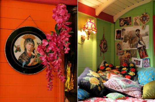 ic nes en roulotte roulottes l 39 esprit boh me sur journal des femmes d coration int rieurs. Black Bedroom Furniture Sets. Home Design Ideas