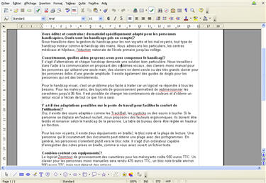 Dossier openoffice le traitement de texte - Numerotation des pages sur open office ...