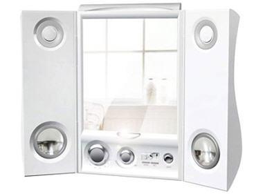 Douche high tech pommeau de douche led geyser design - Miroir salle de bain high tech ...