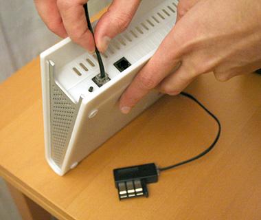 Tutoriel brancher sa livebox - Brancher prise telephone ...