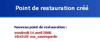 Restauration Windows Xp Choisi Le Disque