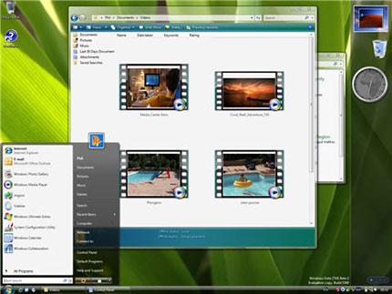 nouveautés de windows vista en images 7