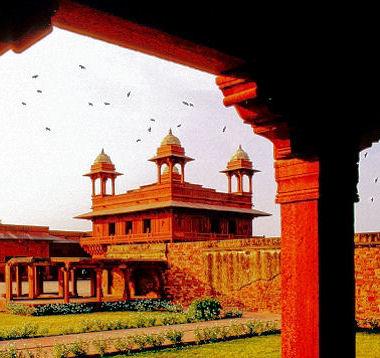 fathpur sikri inde 15 sites historiques d 39 asie. Black Bedroom Furniture Sets. Home Design Ideas