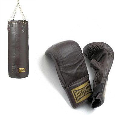 shopping sport de luxe sac de frappe et gants de boxe vintage boxitalia. Black Bedroom Furniture Sets. Home Design Ideas