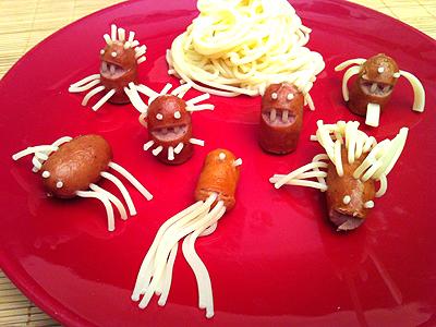 Comment gayer le repas des enfants - La cuisine du monstre tours ...