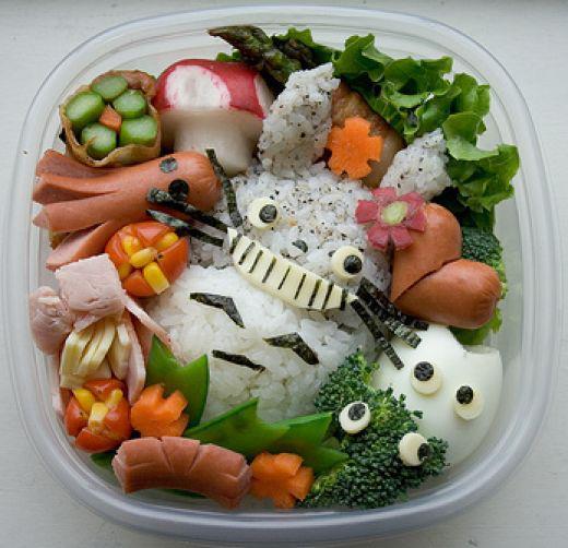 Comment gayer le repas des enfants - Extraordinaires idees declairage cuisine ...