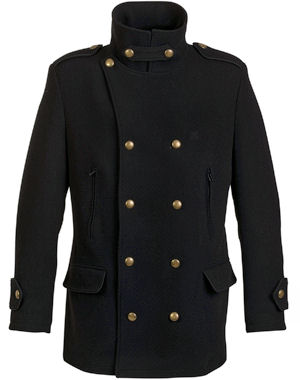 manteaux cabans et trenchs pour bien commencer l 39 hiver caban officier falcon d 39 oxbow. Black Bedroom Furniture Sets. Home Design Ideas