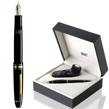 mont blanc stylo plume meisterstuck