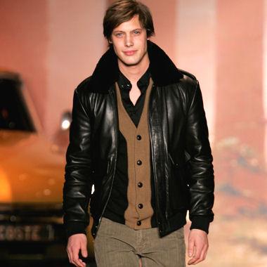 Les veste en cuir pour homme