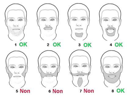 le retour de la barbe et de la moustache les diff rentes formes. Black Bedroom Furniture Sets. Home Design Ideas