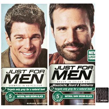 coloration pour cheveux et pour barbe just for men - Coloration Barbe