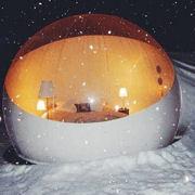 Cadeau de Noël : Une nuit en bulle