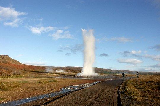 les plus belles photos de geysers par les lecteurs