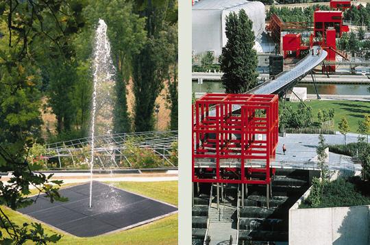 Jardins de l 39 imaginaire et parc de la villette 9 photos du livre le jardin contemporain - Jardins de l imaginaire terrasson ...