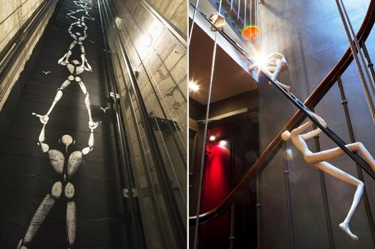 En apesanteur 10 h tels design paris sur l 39 internaute paris design - Escalier en apesanteur ...