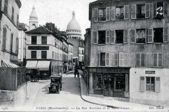 La Rue Norvins