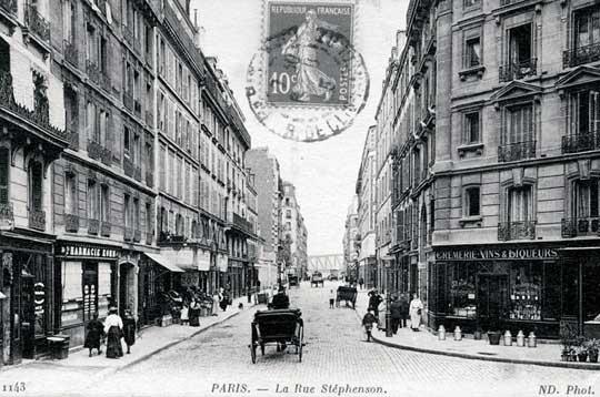 La Rue Stéphenson