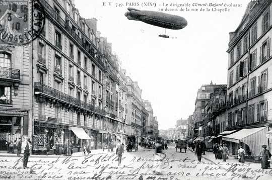 La rue de la Chapelle