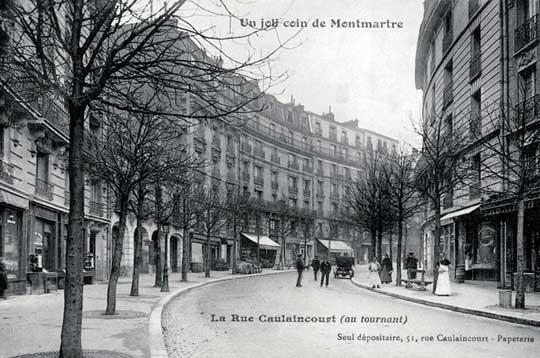 La rue Caulaincourt