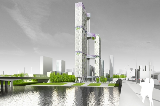 La tour de verre et si l 39 on construisait des tours dans paris sur l - Tour de verre marseille ...