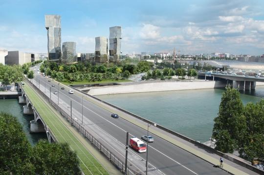 Quatre hectares d 39 espaces verts et si l 39 on construisait for Espace vert tours