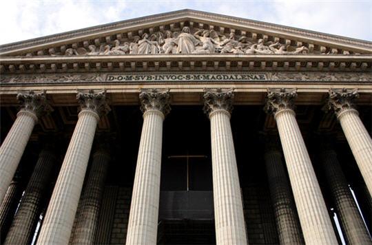Eglise sainte marie madeleine style n o classique et retour l 39 antiquit - Monument la madeleine ...