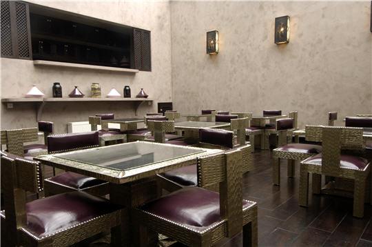 Le hammam Les Cent Ciels - Le restaurant