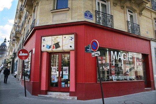 magasins insolites paris magie mayette la boutique. Black Bedroom Furniture Sets. Home Design Ideas
