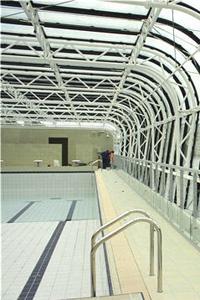 B timent brique piscine pailleron sauna for Piscine edouard pailleron